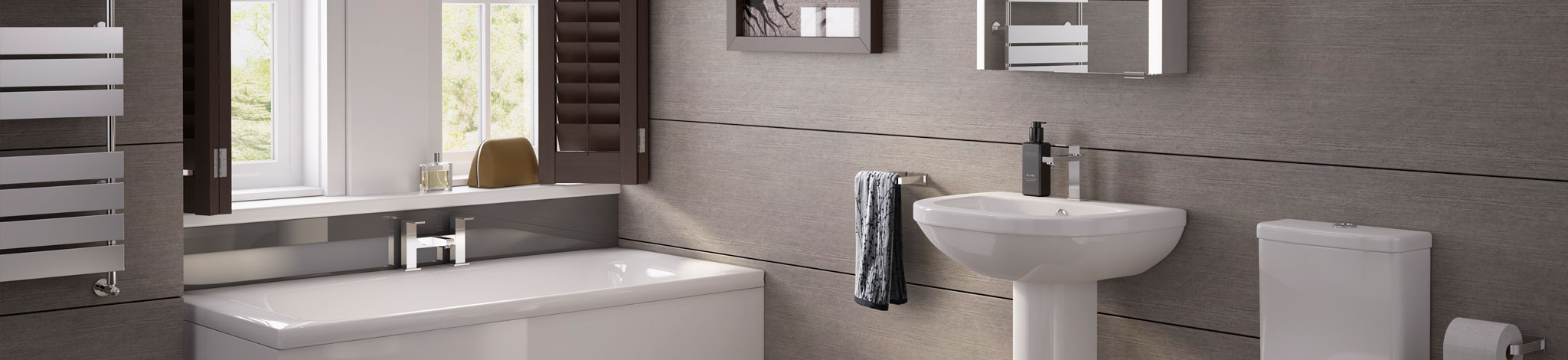 Pura bathrooms at Taps and Tubs