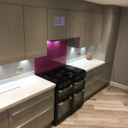 Fair Oak kitchen installation by Taps and Tubs
