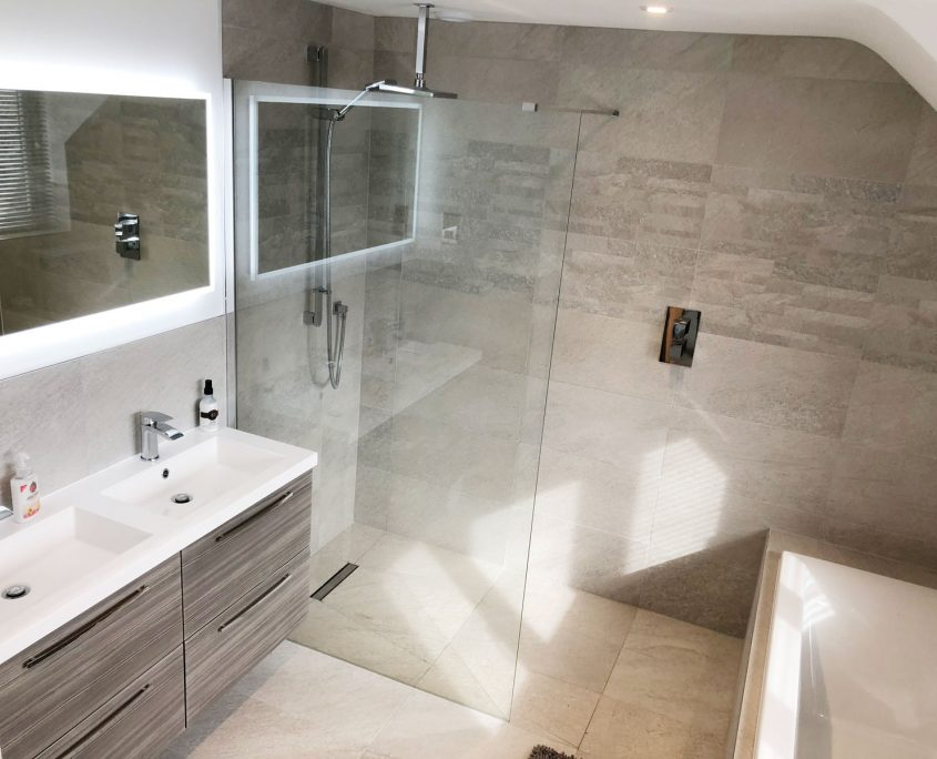 Warsash bathroom installation by Taps and Tubs