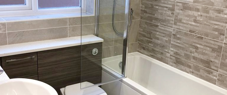 Locks Heath bathroom installation by Taps and Tubs