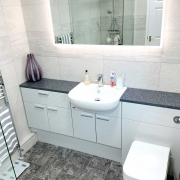 Locks Heath master bathroom by Taps and Tubs