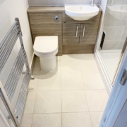 Ensuite in Sarisbury Green completed by Taps and Tubs